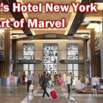 "Neue Details aus den Bauplänen zum ""Hotel New York: The Art of Marvel"""