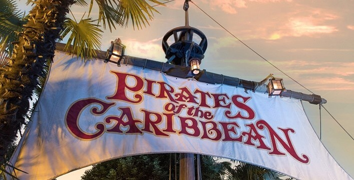 Pirates of the Caribbean im Disneyland Paris