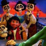 Disney Film Coco zur Weihnachtssaison im Disneyland