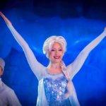 Elsa beim Frozen Sing along