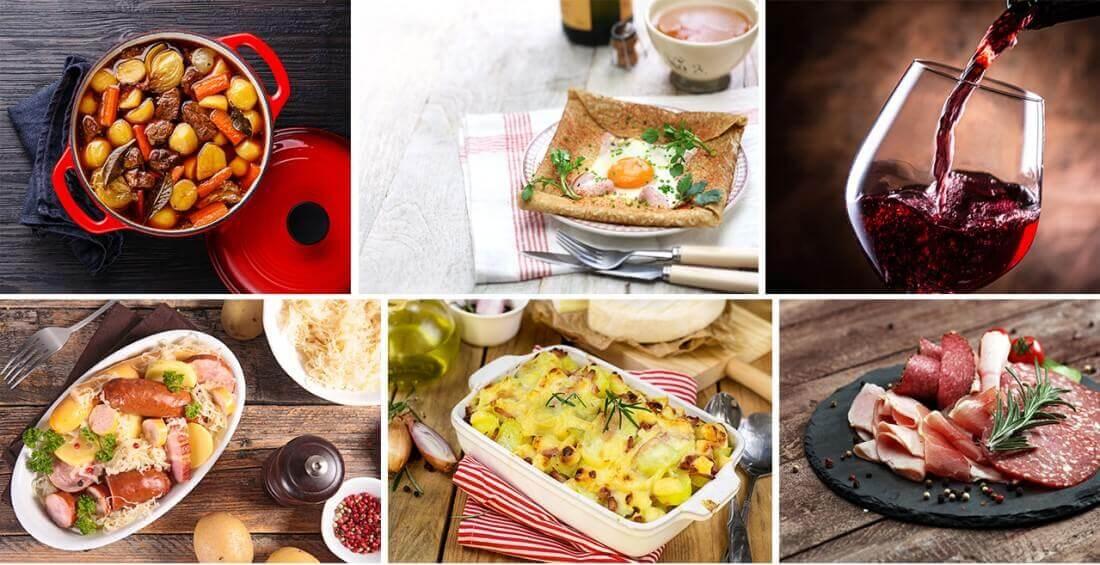 Beispielgerichte des Rendez-vous Gourmande