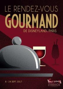 Poster zum French Food & Wine Festival in den Walt Disney Studios