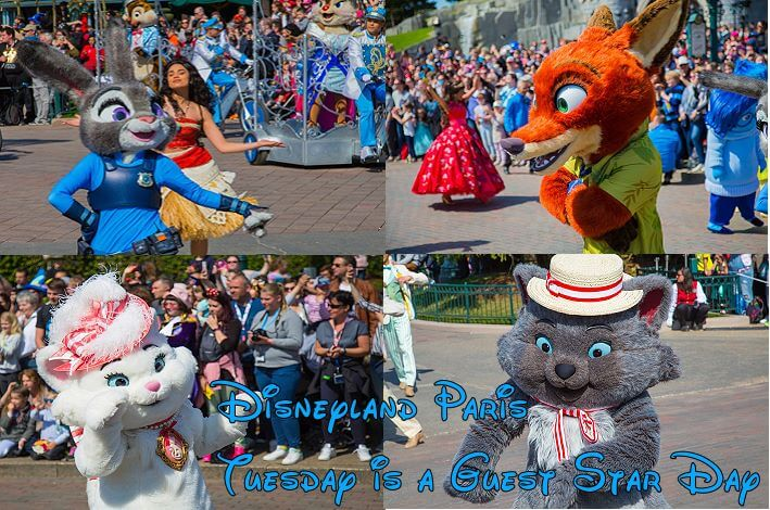 Disneyland Paris: Tuesday is a Guest Star Day