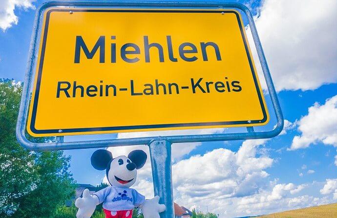 Miehlen in Rheinland Pfalz, Geburtstort von Walt Disneys Großmutter Henrietta Groß