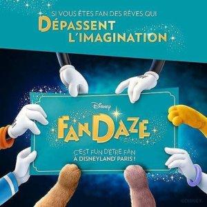 Disney FanDaze Event
