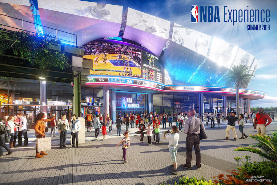 Concept Art NBA Experience