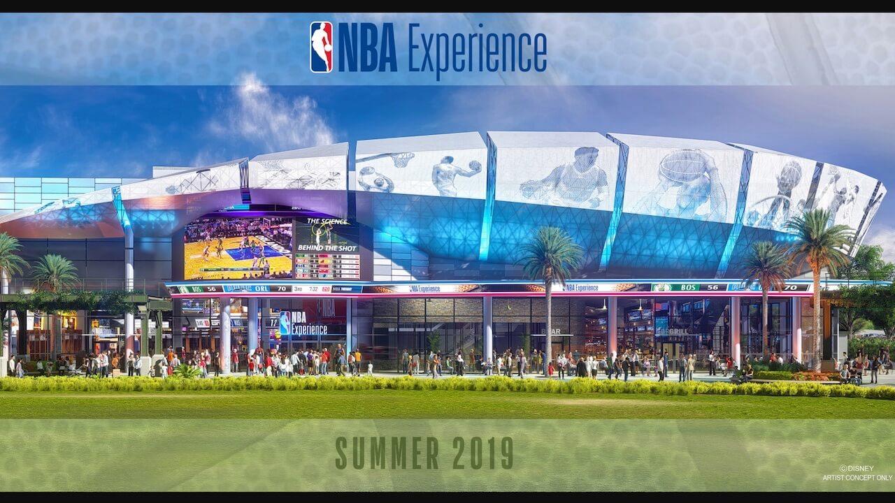 NBA Experience Concept Art