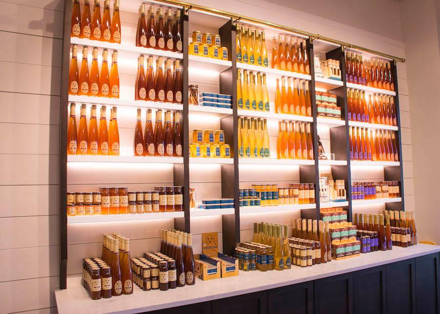 Auswahl an Honigwein