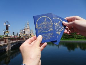 Shanghai Disney Resort Magic Passport - die Shanghai Disneyland Pässe