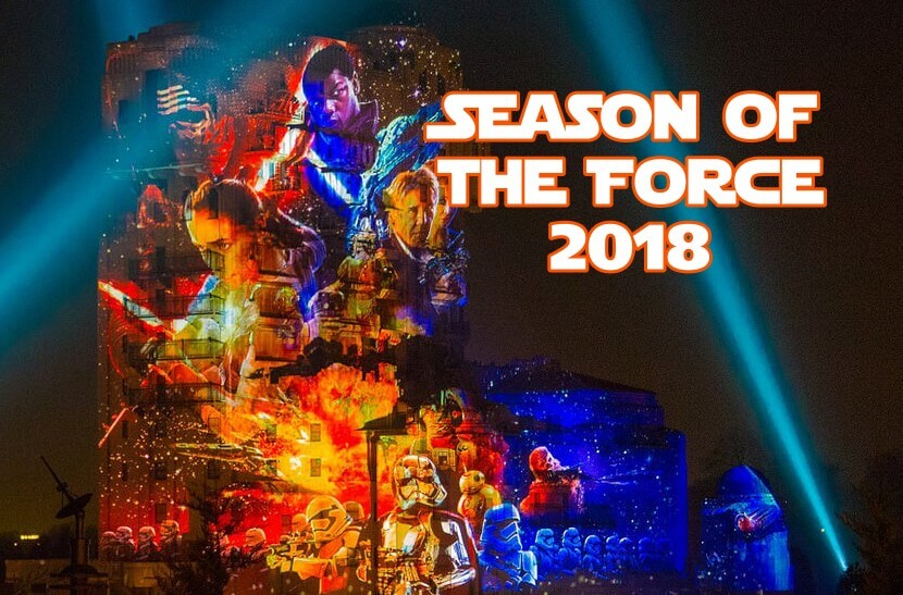 Star Wars im Disneyland: Season of the Force 2018