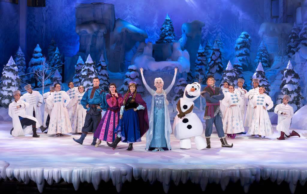Das Cast von Die Eiskönigin- Völlig unverfroren