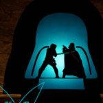 Star Wars-Laterne mit Bastelanleitung