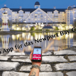Web App für den Newport Bay Club im Disneyland Paris