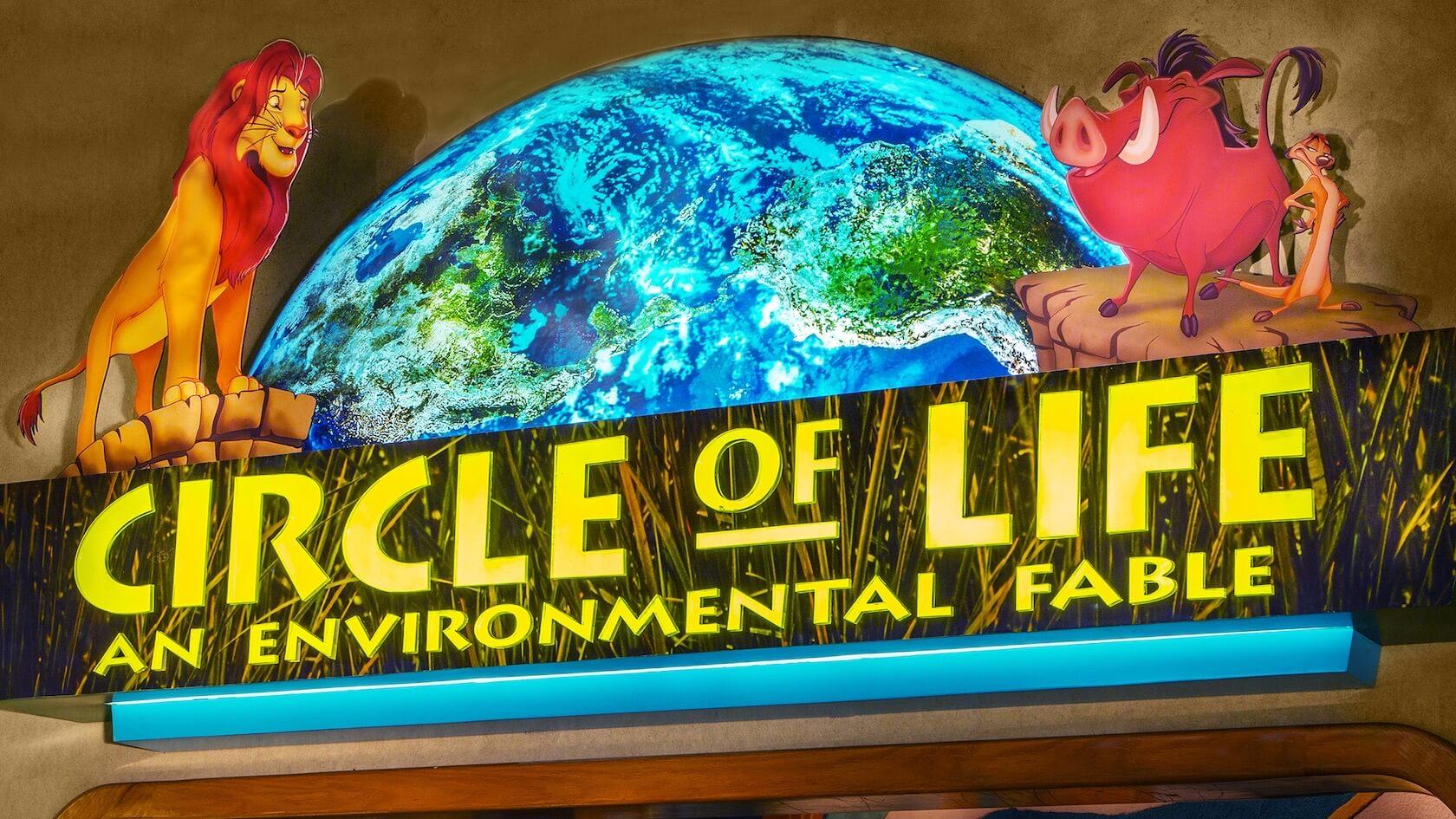 Eingangschild der Show