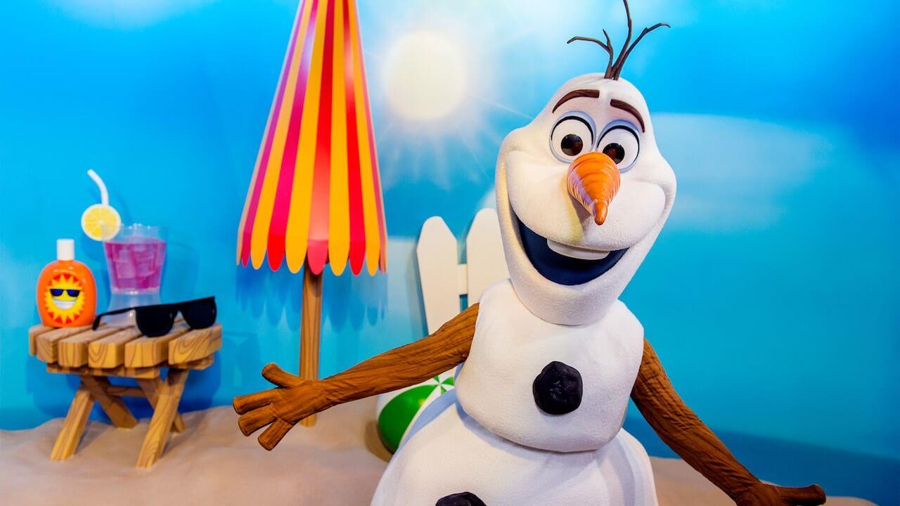 Olaf Meet und greet