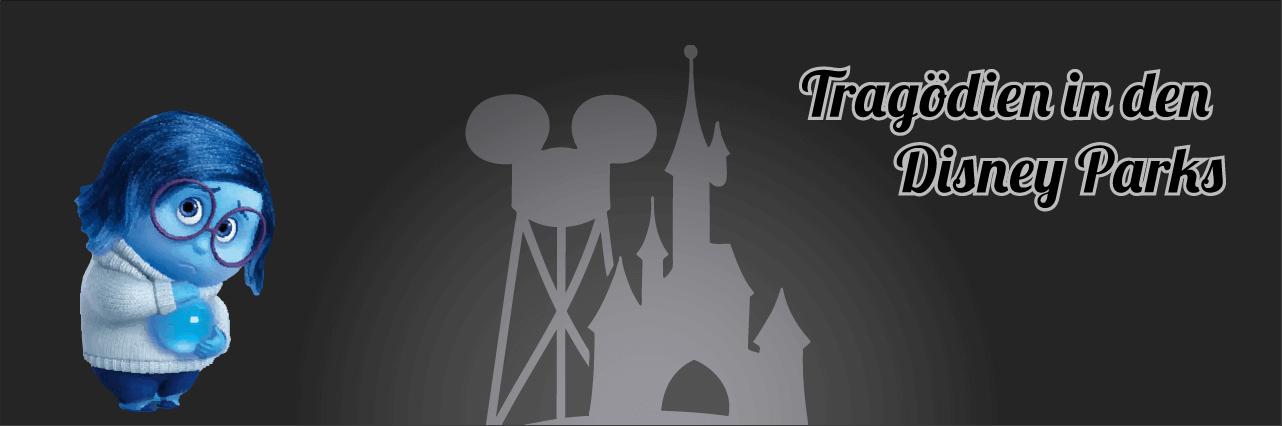 Trauer aus Alles steht Kopf zum Thema Tragödien in Disney Parks