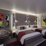 "Details zur Neugestaltung von ""Disney's Hotel New York - The Art of Marvel"""