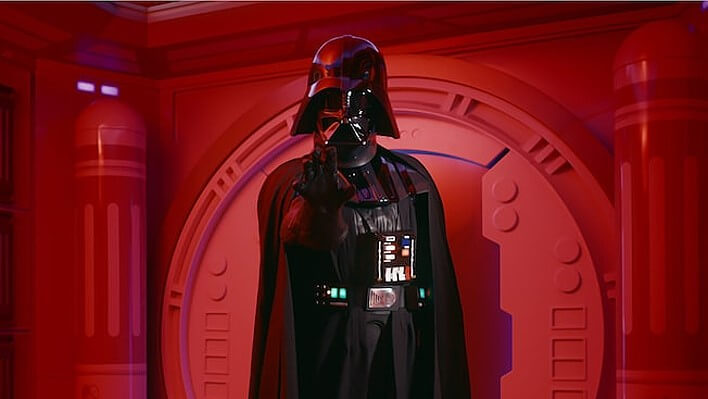 Darth Vader im Disneyland Paris