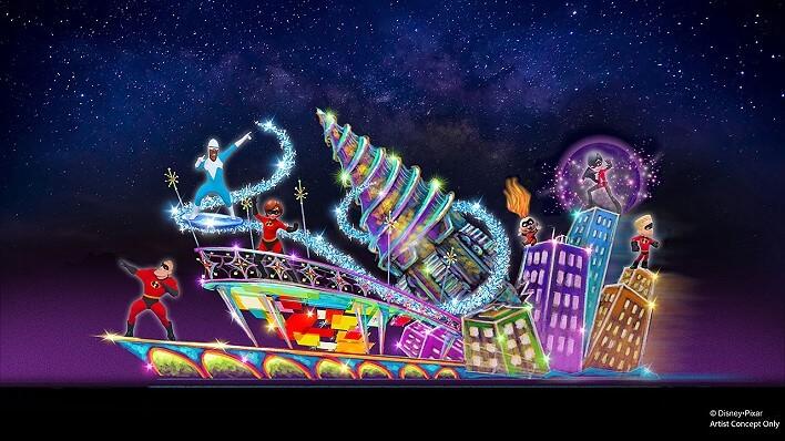 Konzeptzeichnung zu Pixar