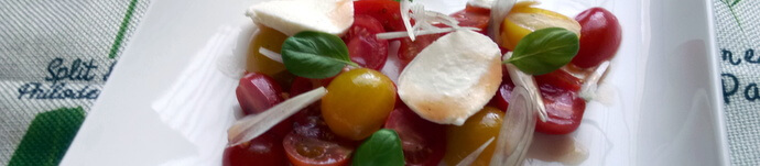 Disney World Rezept: Heirloom Tomato Salad