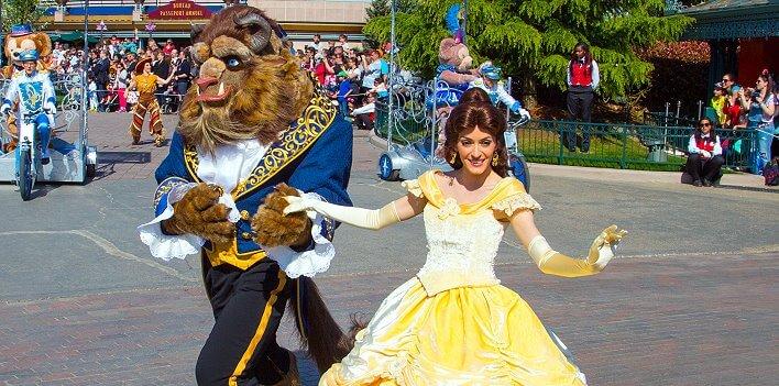 Die Schöne und das Biest im Disneyland Paris