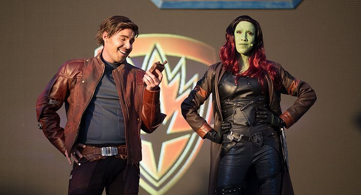 Guardians of the Galaxy im Disneyland Paris