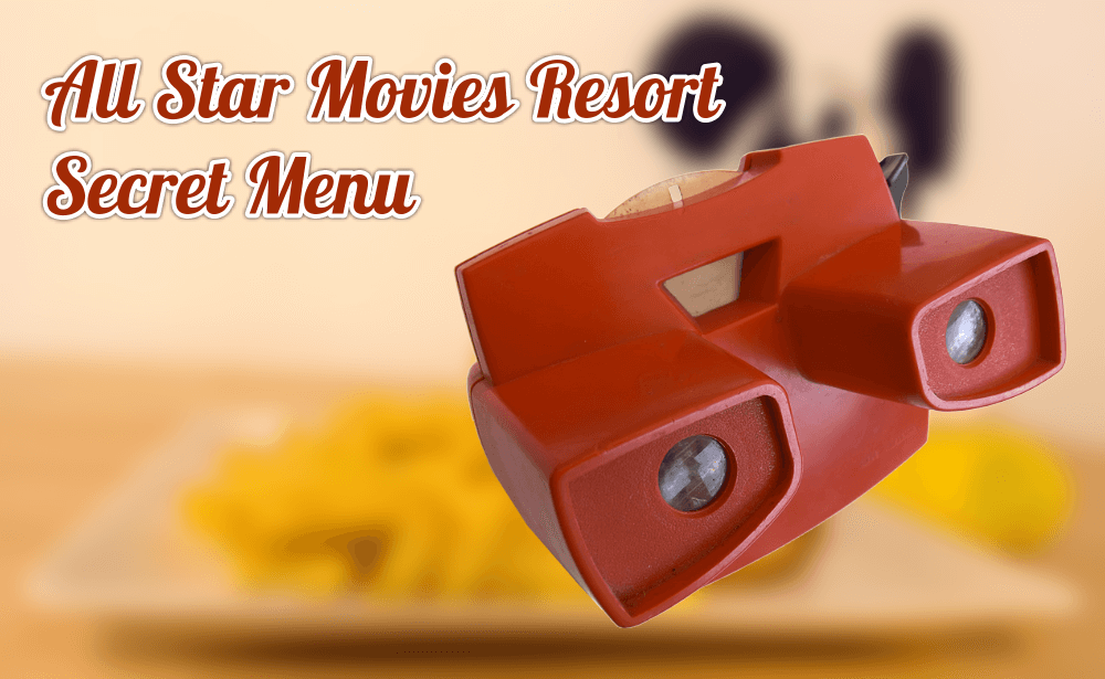 mit dem Viewmaster auf der Suche nach dem Secret Menu im All Start Movies Resort