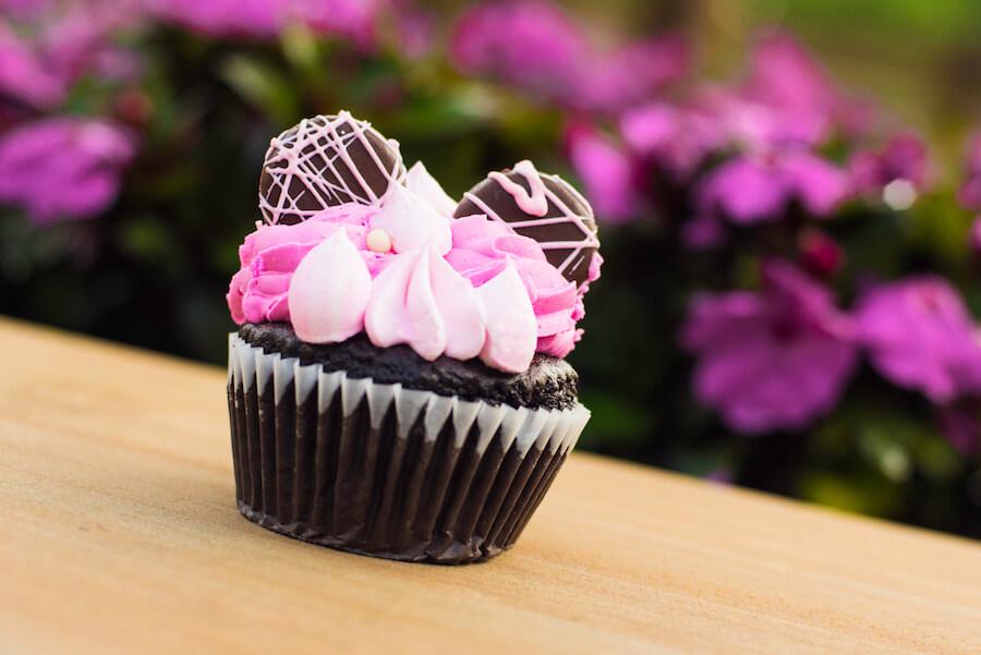 Pinker Schokoladencupcake