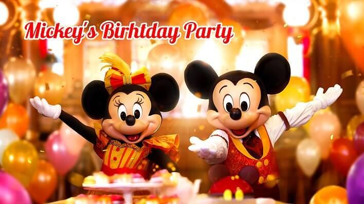 Disneyland Paris feiert den 90. Geburtstag von Mickey Mouse