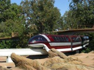 Disneyland Mark VII Monorail