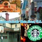 Kein Starbucks auf der Main Street, U.S.A. im Disneyland Paris