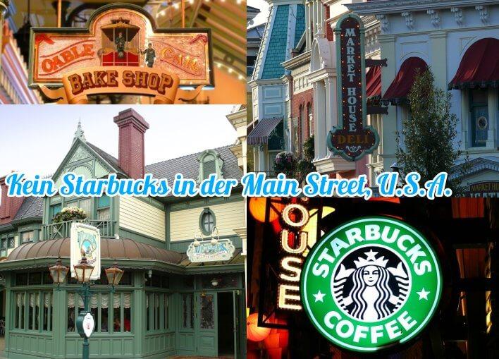 Starbucks im Disneyland Paris