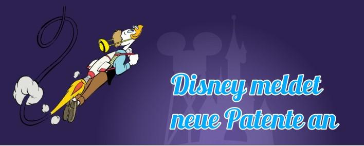 Disney meldet neue Patente an