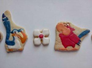 Zazu- und Iago-Kekse