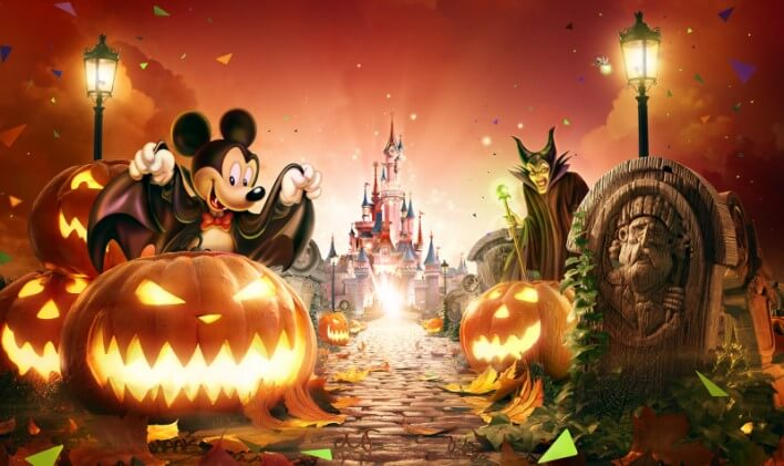 Halloween 2018 im Disneyland Paris