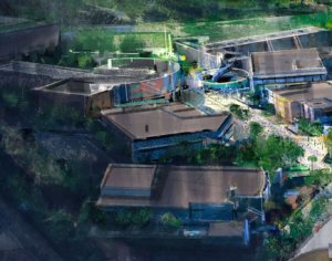 Concept Art des Marvel Lands in den Walt Disney Studios