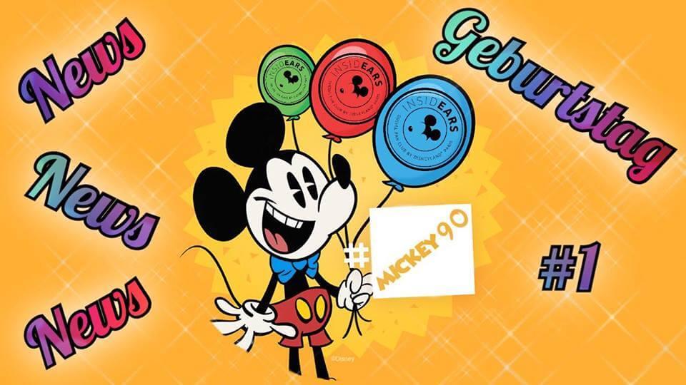 News zu Mickey's 90. Geburtstag