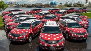 Minnie Van Flotte in Walt Disney World