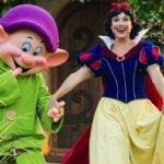 """Das Menü für das neue """"Storybook Dining"""" mit Schneewittchen in Disney's """"Wilderness Lodge"""""""