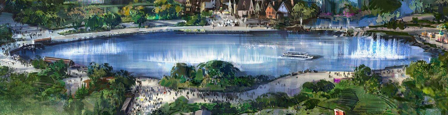 See um den in den Walt Disney Studios neue Länder und Restaurants angelegt werden (Concept Art)