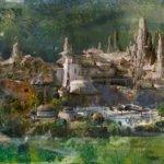 Landkarte des Black Spire Outpost auf Batuu - Star Wars Galaxy's Edge
