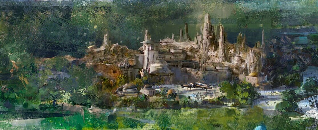 Concept Art zum Star Wars Land im Disneyland Paris