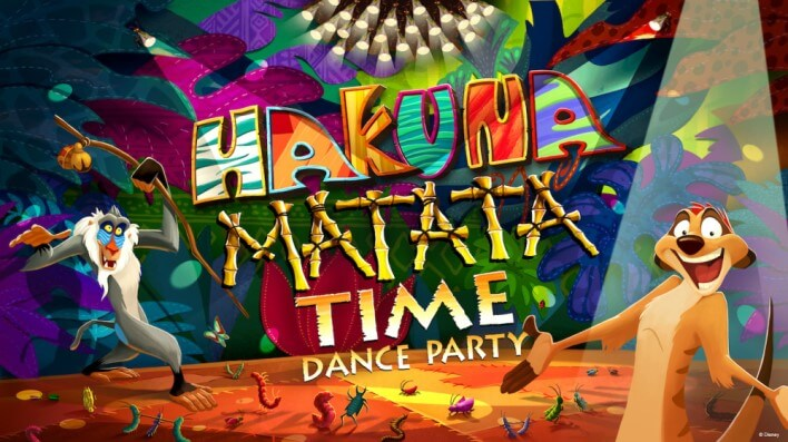 show im animal Kingdom: Hakuna Matata Dance Time Party