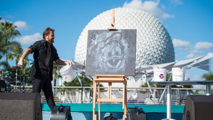 Kunstfestival in Epcot: International Festival of the Arts