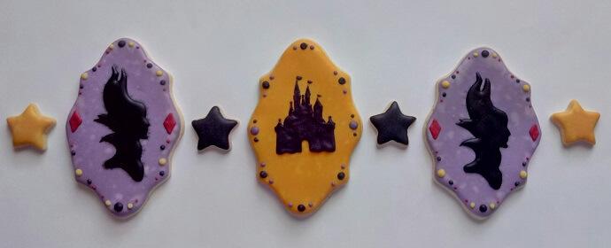 Kekse im Halloween-Design