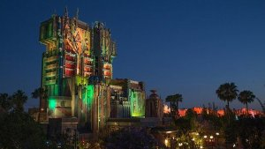 Tower of Terror als Guardians of the Galayx Attraktion