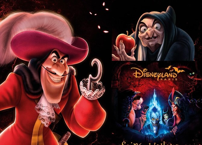 Soiree Halloween im Disneyland Paris