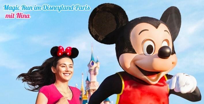 Mickey Mouse beim Laufevent MagicRun