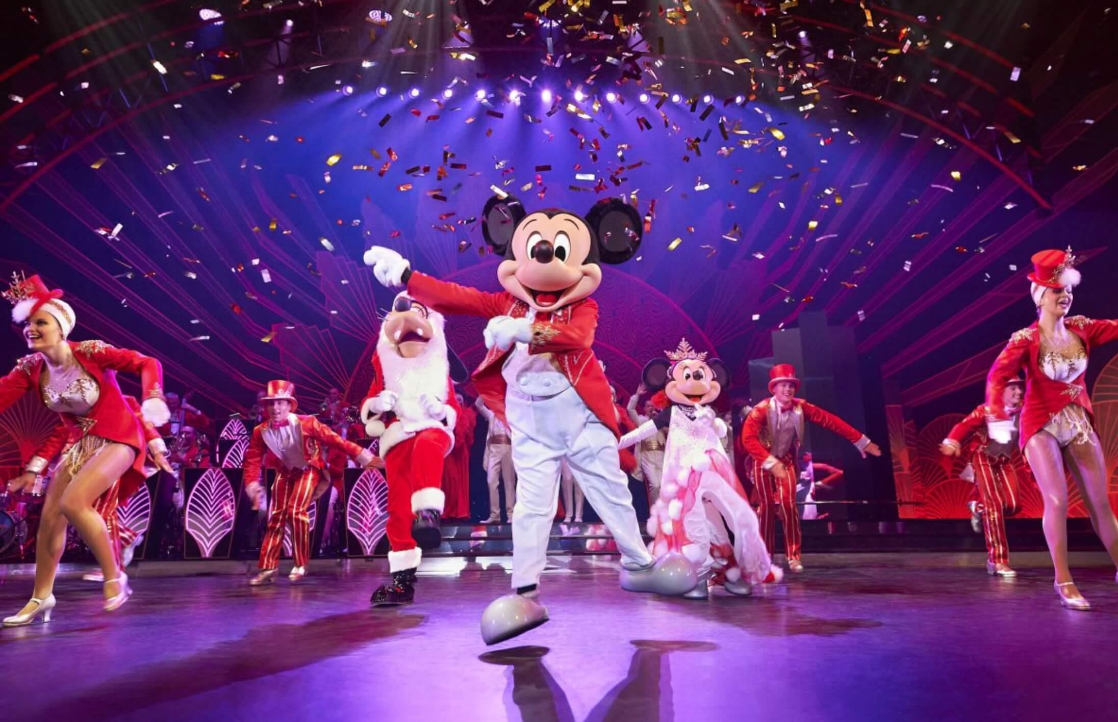 Mickey beim Steppen