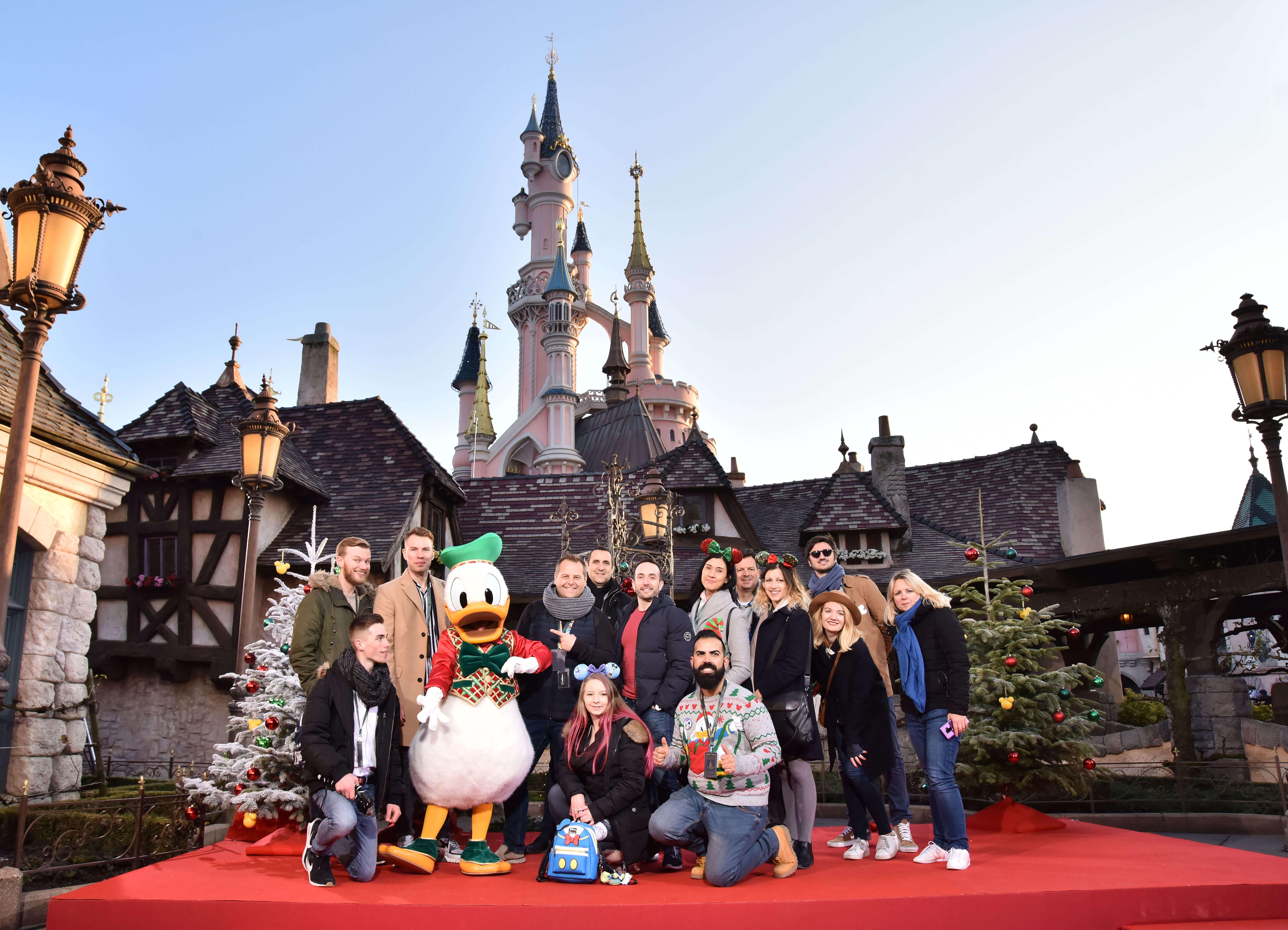 Gruppenfoto Donald